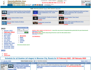 operaandballet.com screenshot