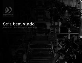 operacional.com.br screenshot