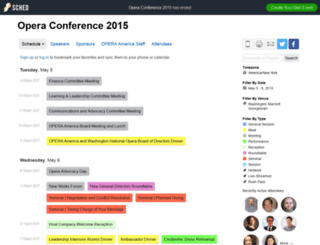 operaconf2015.sched.org screenshot