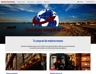 operadoradecarga.com.mx screenshot