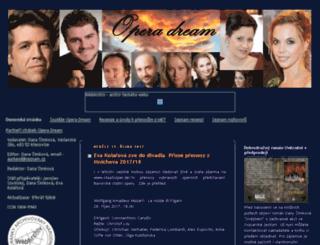 operadream.blogspot.com screenshot