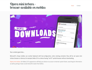 operaminiterbarubrowser.zohosites.com screenshot