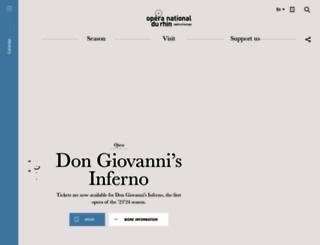 operanationaldurhin.eu screenshot