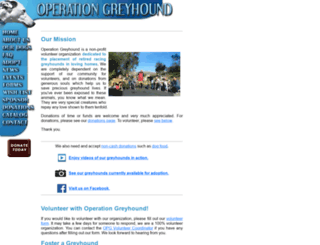 operationgreyhound.com screenshot