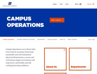 operations.boisestate.edu screenshot