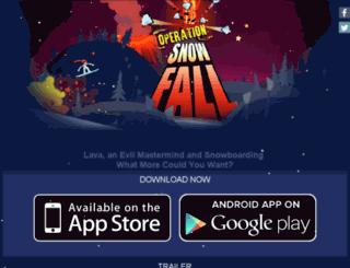 operationsnowfall.com screenshot
