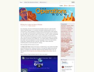 operationsroom.wordpress.com screenshot