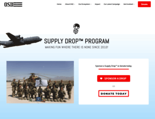 operationsupplydrop.org screenshot