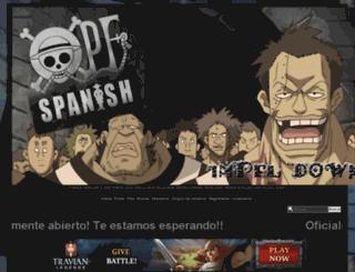 opfspanish.foroactivo.net screenshot