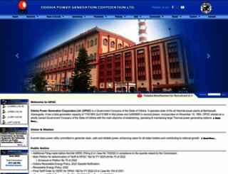 opgc.co.in screenshot