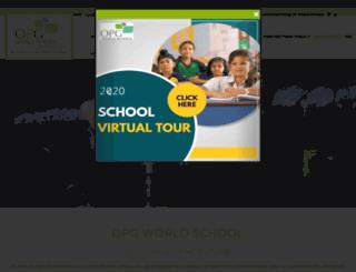 opgworldschool.com screenshot