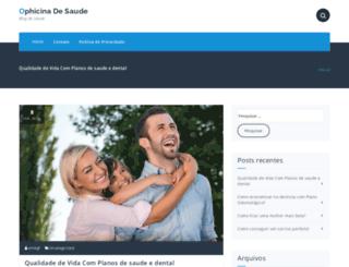 ophicinadesaude.com.br screenshot