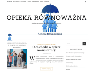 opiekarownowazna.pl screenshot