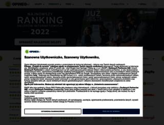 opineo.pl screenshot