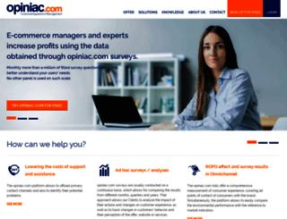 opiniac.com screenshot