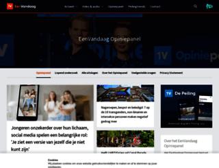 opiniepanel.eenvandaag.nl screenshot