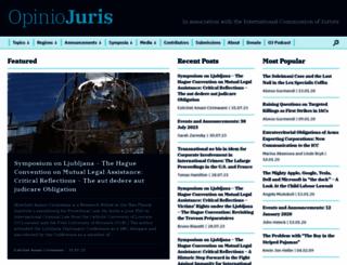 opiniojuris.org screenshot