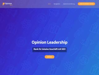 opinion-leadership.de screenshot