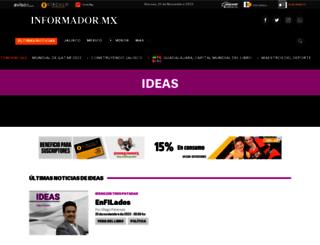 opinion.informador.com.mx screenshot