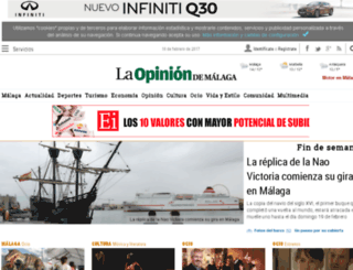 opinionmalaga.com screenshot