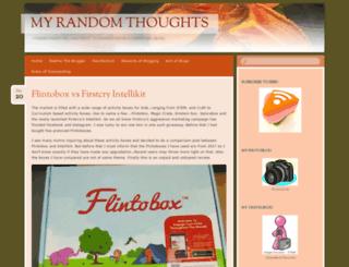 opinionsandexpressions.wordpress.com screenshot