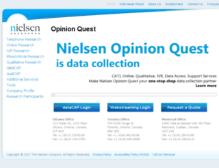 opinionsearch.com screenshot