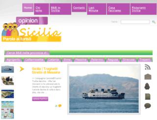 opinionsicilia.it screenshot