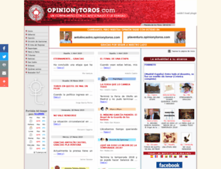 opinionytoros.com screenshot