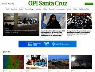 opisantacruz.com.ar screenshot