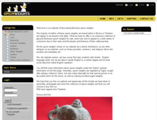 opiumweights.net screenshot