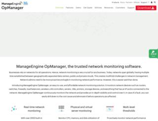 opmanager.com screenshot