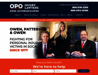 opolaw.com screenshot