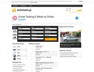 opolskie.autoteam.pl screenshot