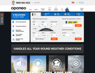 oponeo.com screenshot