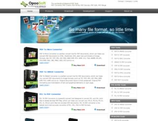 opoosoft.com screenshot