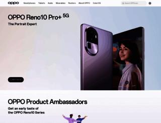 oppo.com screenshot