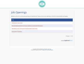 opportunity.hamlethub.com screenshot