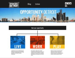 opportunitydetroit.com screenshot