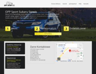 oppsubaru.pl screenshot