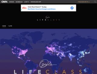 oprahslifeclassthetour.oprah.com screenshot