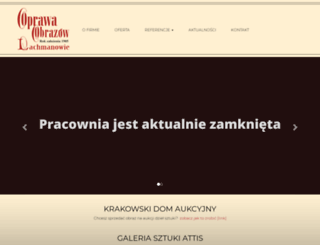 oprawa.com screenshot