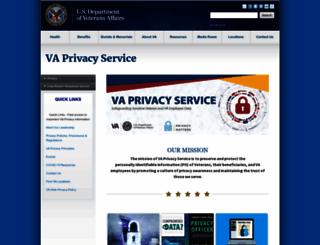 oprm.va.gov screenshot