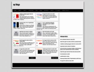 opsblogs.blogspot.in screenshot