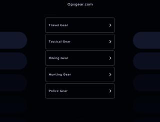opsgear.com screenshot