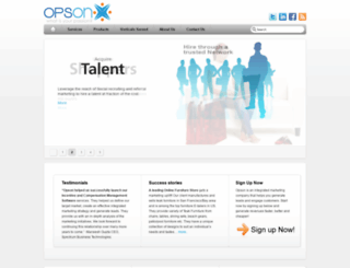 opson.com screenshot
