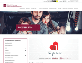 opsswarzedz.pl screenshot