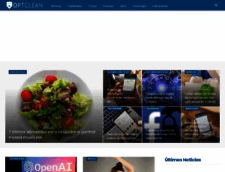 optclean.com.br screenshot