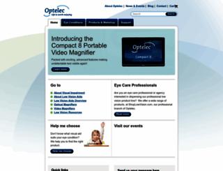optelec.com screenshot