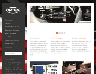 optex.com.au screenshot