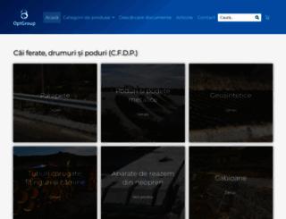 optgroup.eu screenshot